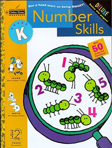 9780307036650: Number Skills Grade K (Golden Step Ahead Plus)