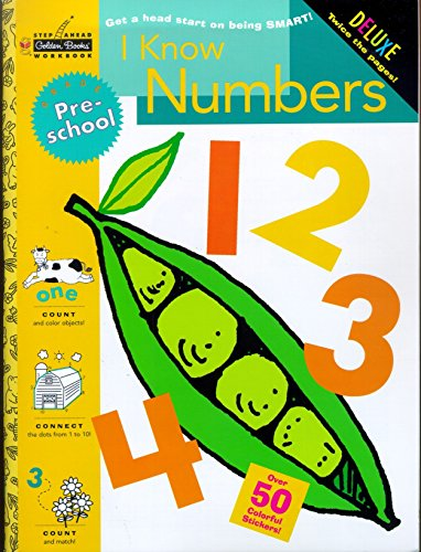 I Know Numbers (Preschool) (Step Ahead): Golden Books