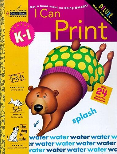 9780307036742: I Can Print (Grades K - 1) (Step Ahead)