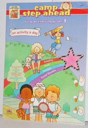 Camp Step Ahead Workbook for kids entering grade 3: Golden Books