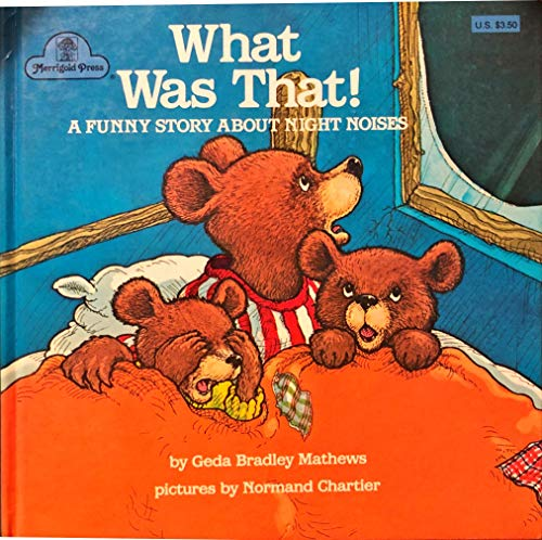 9780307039149: WHAT WAS THAT! A Funny Story About Night Noises