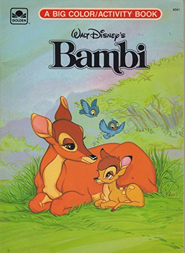 9780307040411: Bambi Big Coloring Activity Book