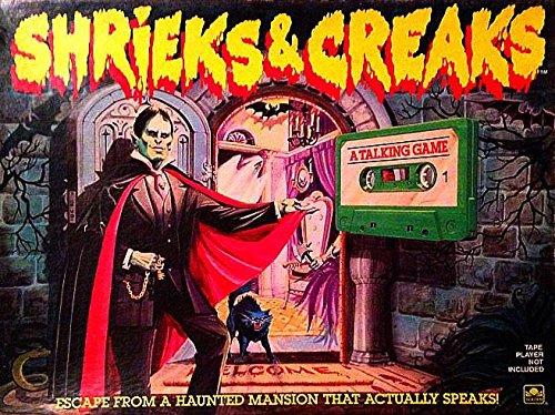 Shrieks And Creaks Game: Golden Books