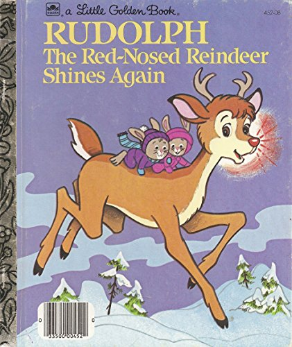 9780307046017: Rudolph the Red-Nosed Reindeer Shines Again (Little Golden Books)