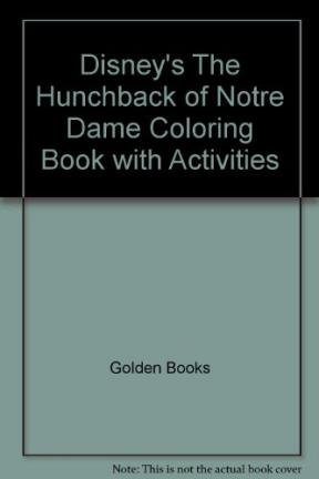 9780307056573: The Hunchback of Notre Dame (Coloring Book)