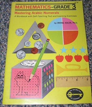9780307059734: Mathematics Grade 3 Workbook Mastering Arabic Numbers