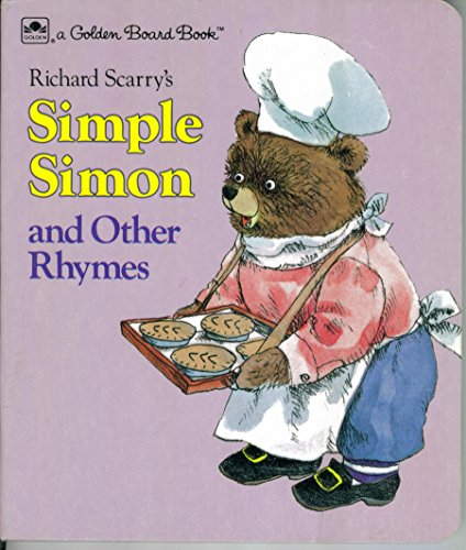 Simple Simon & Other Rhymes (Little Board: Golden Books