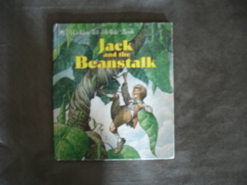 9780307070876: Jack and the beanstalk (A Golden tell-a-tale book)