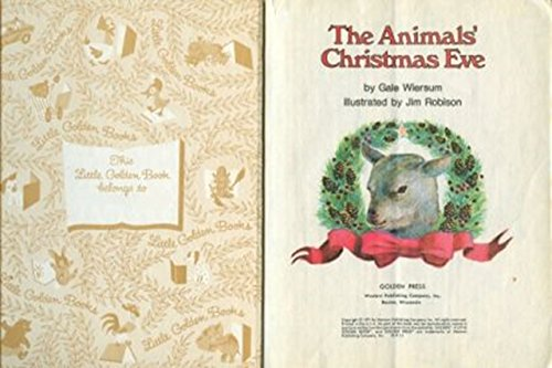 9780307071033: The Animals' Christmas Eve
