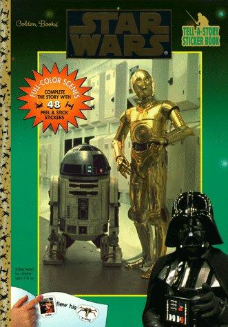 Star Wars: Tell A Story Sticker Book: Golden Books Staff