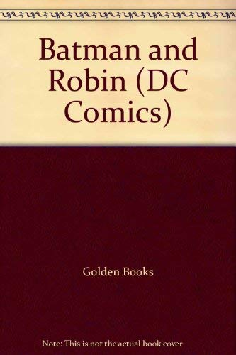 Batman and Robin (DC Comics): Golden Books; Western, Golden
