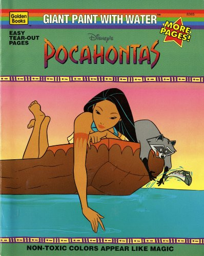 Disney's Pocahontas/Giant Paint With Water: Golden Books