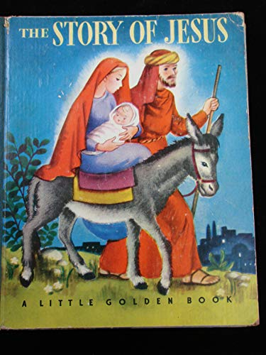 The Story of Jesus (Coloring Book): Golden Books
