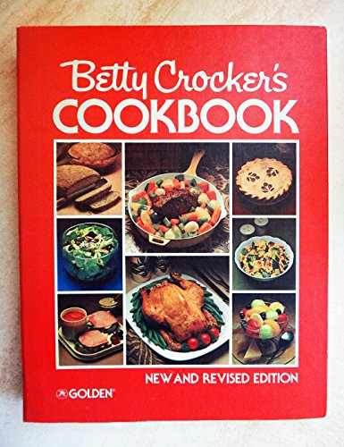 BETTY CROCKER'S COOKBOOK - 1972 EDITION - PIE CHART RED COVER BINDER
