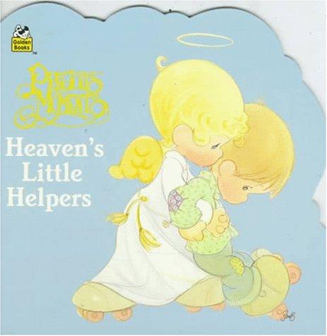 9780307100122: Precious Moments: Heaven's Little Helper (Golden Super Shape Book)