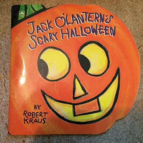 9780307100160: Jack O'Lantern's Scary Halloween (Golden Super Shape Book)