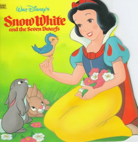 9780307100375: Walt Disney's Snow White and the Seven Dwarfs (Golden Super Shape Book)