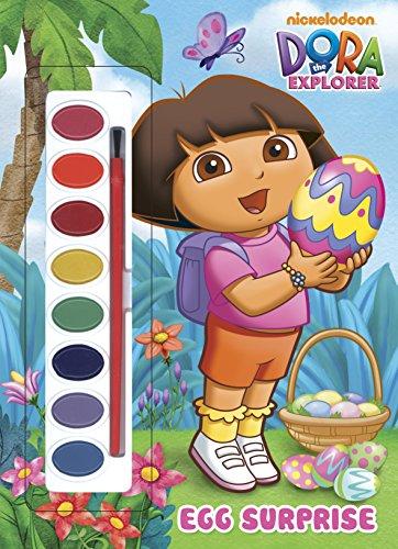 9780307100436: Egg Surprise (Dora the Explorer) [With Paint Brush and Paint] (Paint Box)