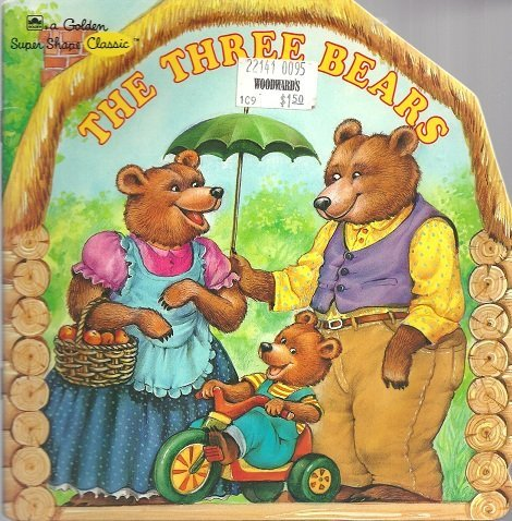 9780307100504: The Three Bears (A Golden Super Shape Classic)
