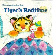 9780307100535: Tigers Bedtime Super Shape Bk (Look-Look)
