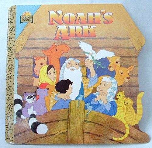 9780307100580: Noah's Ark (Golden Super Shape Book)