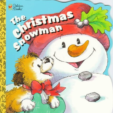 9780307100610: The Christmas Snowman (Golden Super Shape Book)
