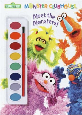 9780307101198: Meet the Monsters: Paint Book