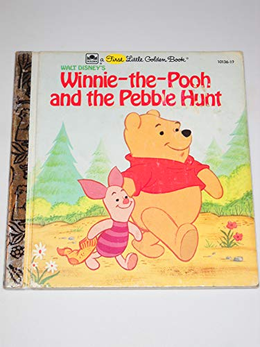 9780307101211: Walt Disney's Winnie-The-Pooh & the Pebble Hunt (First Little Golden Book)