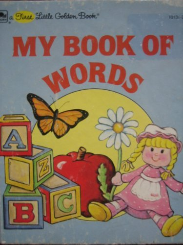 9780307101310: My First Book of Words (Little Golden Book)