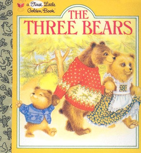 9780307101471: The Three Bears (First Little Golden Books)