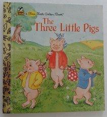 9780307101730: The Three Little Pigs (First Little Golden Book)