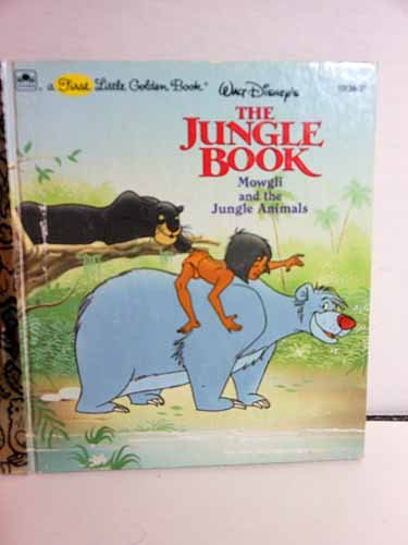 9780307101792: Walt Disney's The jungle book: Mowgli and the jungle animals (A First little golden book)