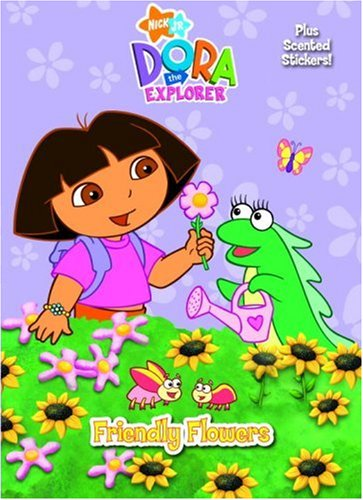 9780307102881: Friendly Flowers (Scented Sticker Coloring Book)
