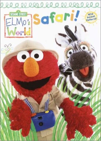 Elmo's World: Safari (Color Plus Textured Cards): Golden Books