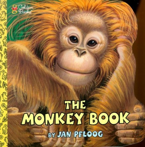 9780307103475: The Monkey Book (Look-Look)