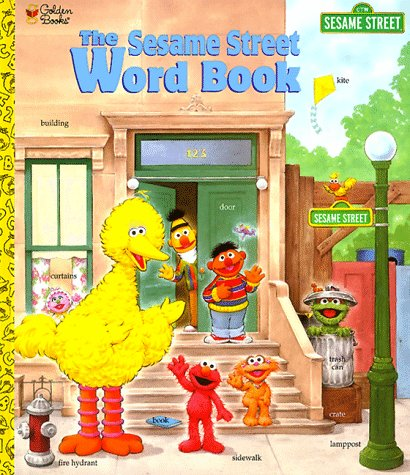 9780307103741: The Sesame Street Word Book: Featuring Jim Henson's Muppets