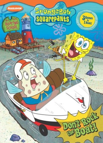 Don't Rock the Boat! (Press-out Activity Book): Golden Books