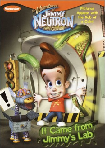 It Came from Jimmy's Lab (Coin Reveal): Golden Books