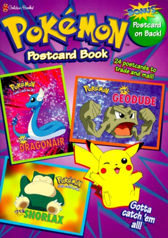 9780307104632: Pokemon Postcard Book (Pokemon (Golden))