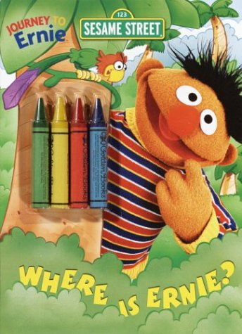 Where Is Ernie? (Color Plus Chunky Crayons): Golden Books