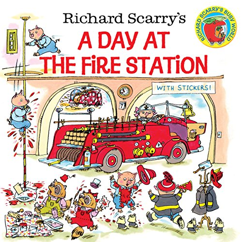 9780307105455: Richard Scarry's A Day at the Fire Station (Pictureback(R))