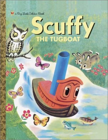 9780307105479: Scuffy the Tugboat (Big Little Golden Book)