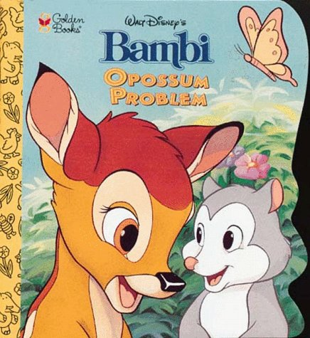 9780307105813: Walt Disney's Bambi Opossum Problem (Little Super Shape Book)