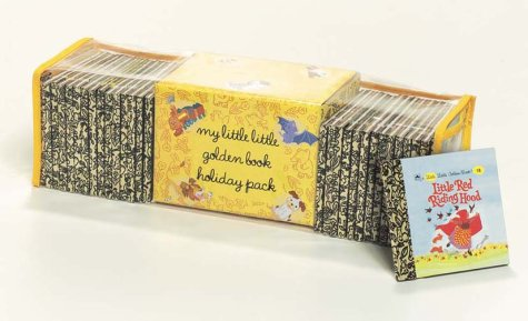 9780307107060: MY LITTLE LITTLE Golden Books Holiday Pack