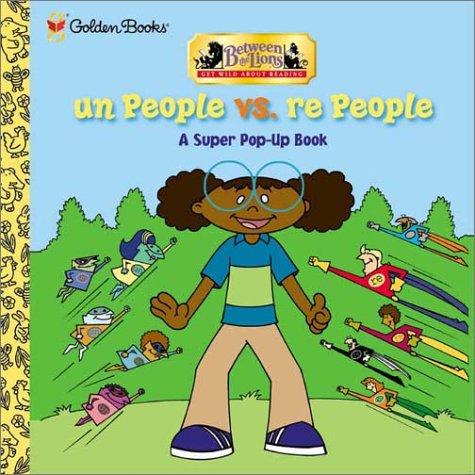 9780307107213: Un People vs Re People (Pop-Up Book)