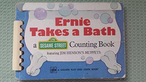 9780307107374: Ernie Takes a Bath: A Counting Book