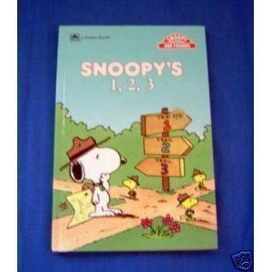 9780307109286: Snoopy's 1,2,3 Concept bks (Golden Books for Beginners)