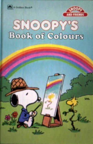 9780307109293: Snoopy's Book Of Colors Concept (Golden Books for Beginners)