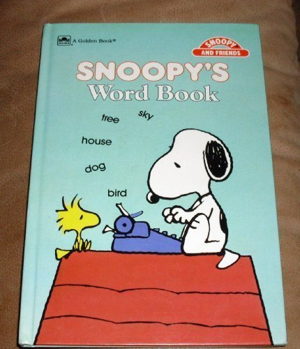 9780307109323: Peanuts Snoopy: SNOOPY'S WORD BOOK