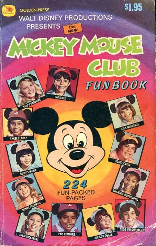 9780307111906: The New Mickey Mouse Club Fun Book